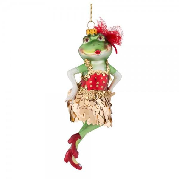 """Hänger """"Froschmädchen, mit Kleid"""""""