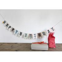 Glückwunschgirlande - Happy Birthday