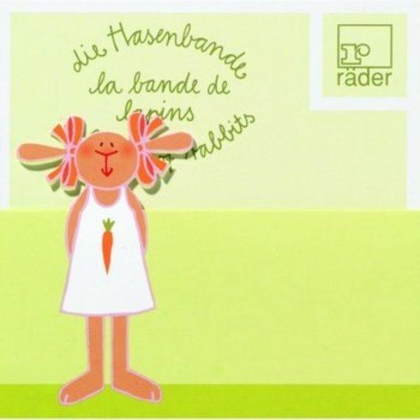 Hasenbande Tischkarte Lotte Karotte 6tlg.