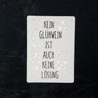 "Winter Postkarte ""Glühwein"""