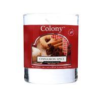 Duftkerze im Glas, Cinnamon Spice 35 h
