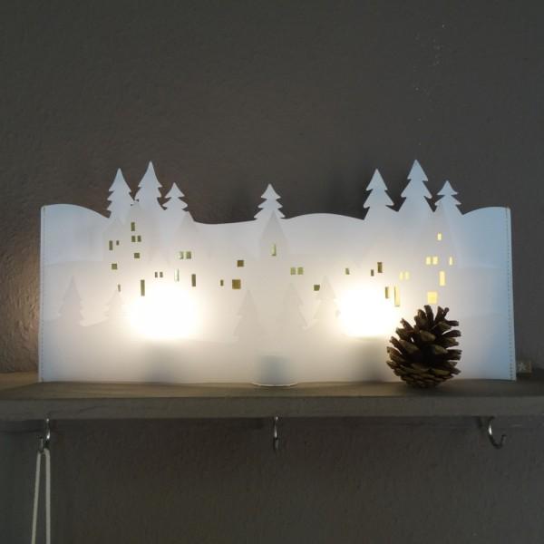 """Winterwelt """"Häuser"""""""