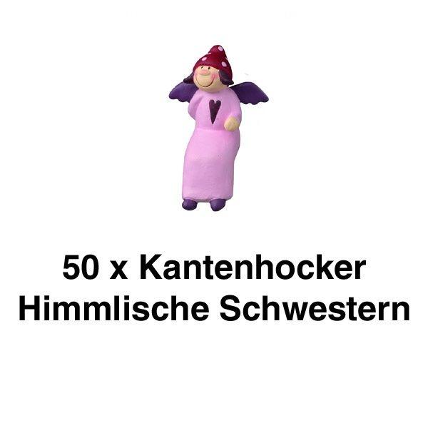 Charlotte Kantenhocker - Mini, 8 cm 50er Set