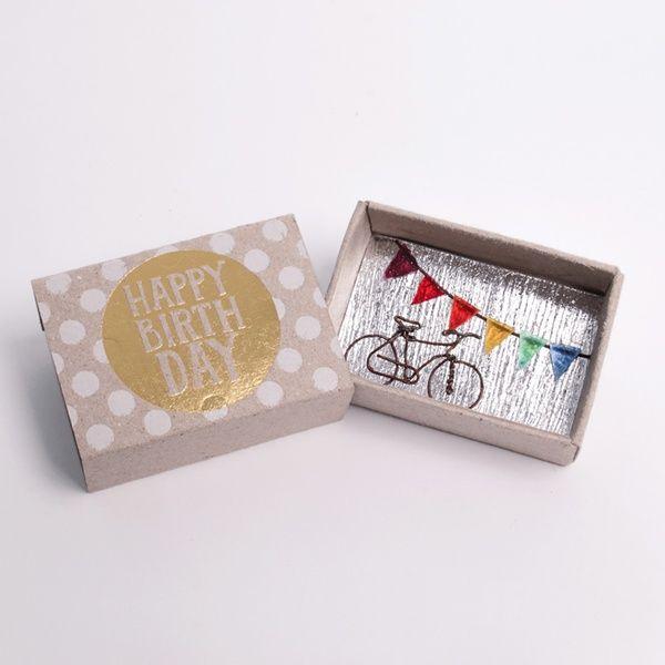 """Kleine Wunschbox """"Happy Birthday"""""""