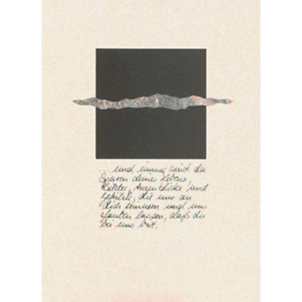 "Trauer Karte ""Horizont"""