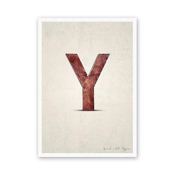 "Postkarte - ""Y"""