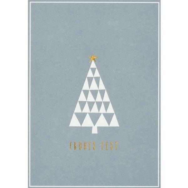 "Winter Postkarte ""Tannenbaum"""