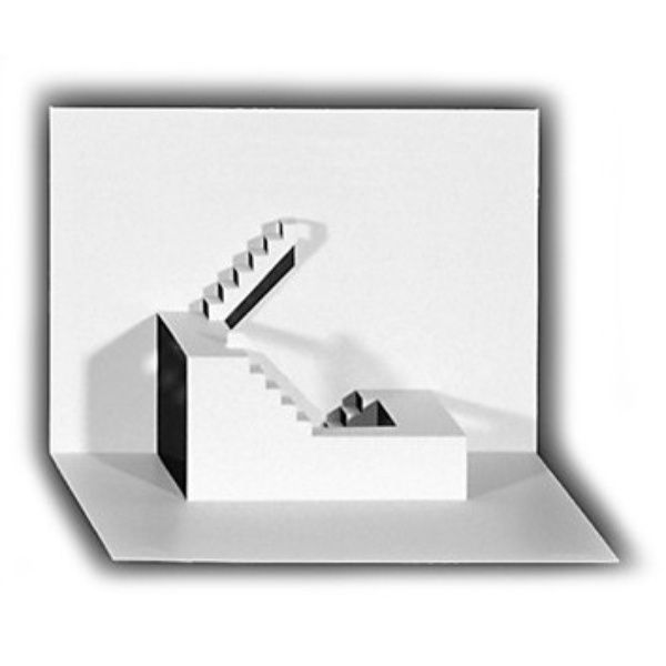 Origami-Architekturkarte TRAUMSTUFEN
