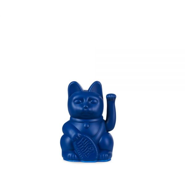 """Mini Winkekatze """"Lucky Cat Dark Blue"""""""