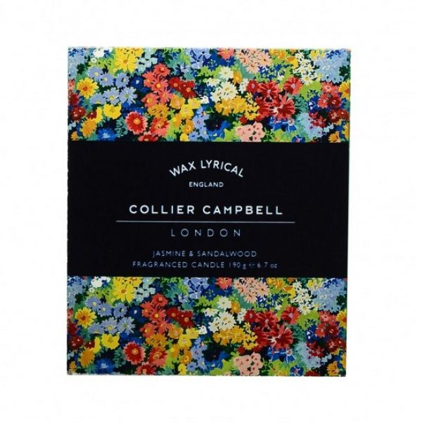 Collier Campbell Jasmine & Sandalwood Glass Candle