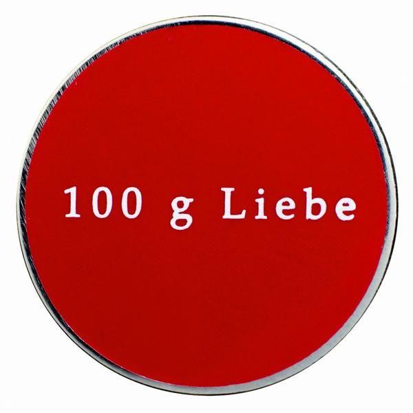 """Gourmetpin Motiv - """"100g Liebe"""""""