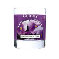 Fragranced Candle Sweet Violett & Blackberry 35 h