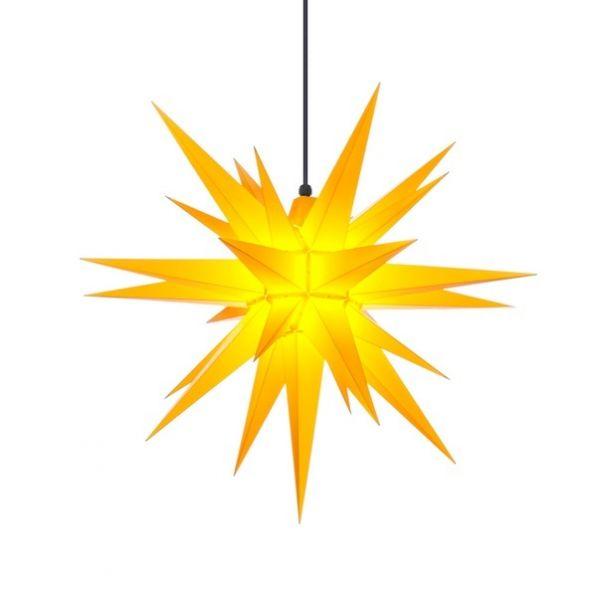 Herrnhuter Stern für Außen, A7 Gelb 68 cm