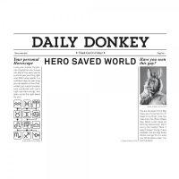 "Kühlschrankmagnet ""Daily Hero"""