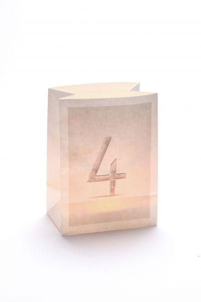 """Lichttüte """"4"""""""