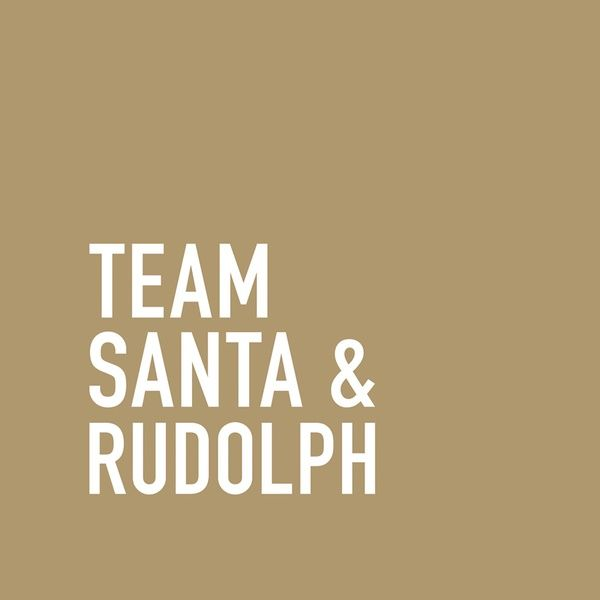 "Servietten ""Team Santa & Rudolph"""
