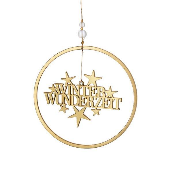 """Weihnachtsgruß """"Winter Wunderzeit"""""""