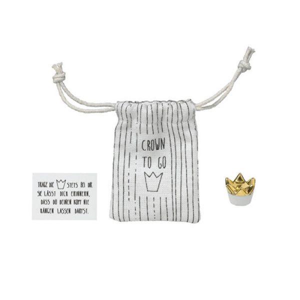 """Kleiner Taschenbegleiter """"Crown to Go"""""""
