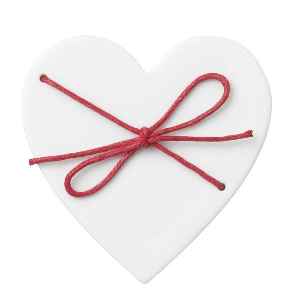 Porzellan Herzdose klein