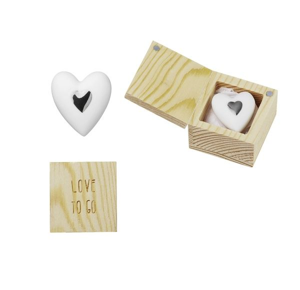 Herzstücke Love to go im Holzkästchen