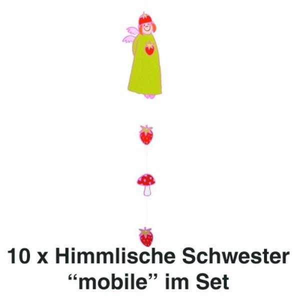 Himmlische Schwestern Mobile Pauline 10er Set