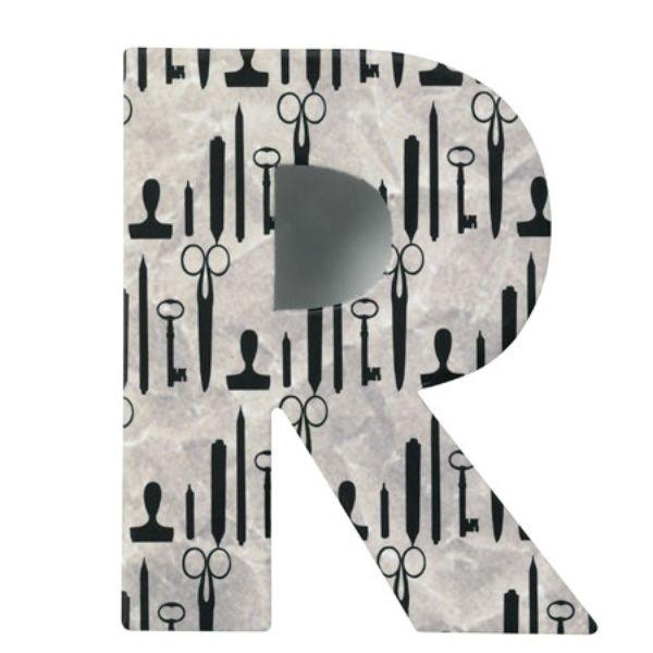 """Paper & Poetry ABC Schachtel """"R"""""""