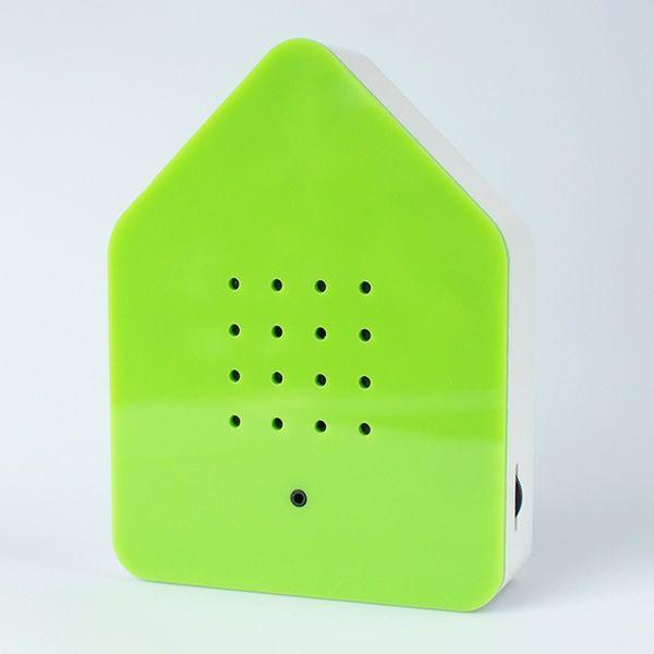 Zwitscherbox Klassik -grün-