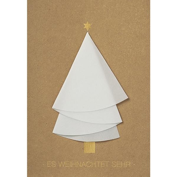 weihnachtsb umchen karte es weihnachtet sehr im r der online shop hals ueber krusekopf. Black Bedroom Furniture Sets. Home Design Ideas