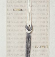 """Flechtkarte Hochzeit """"Schön zu zweit ..."""""""