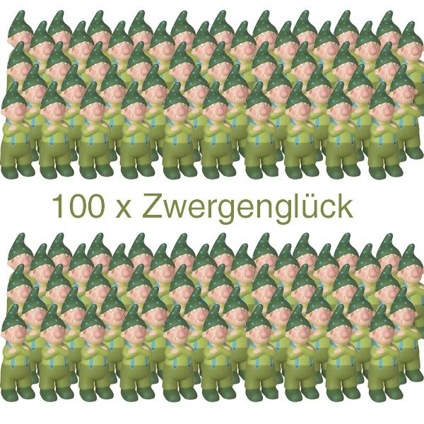 Räder, Zwergenglück - Nörgelmax 12 cm 100er Set