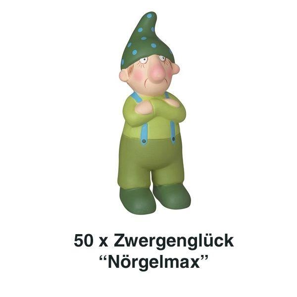 Räder, Zwergenglück - Nörgelmax 12 cm 50er Set