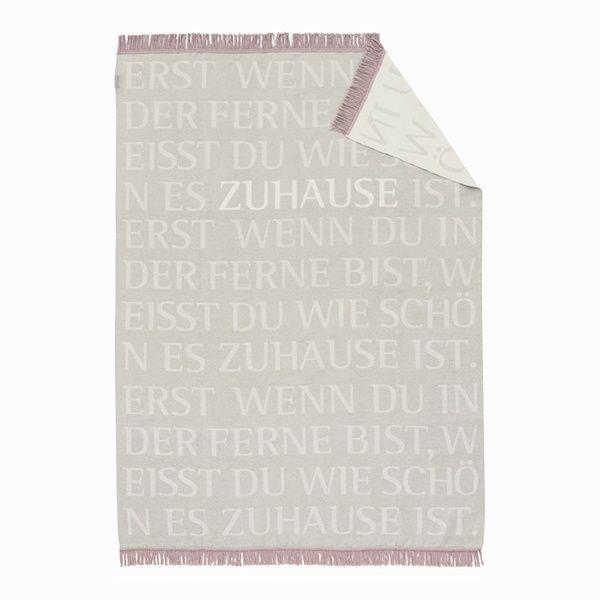 """Decke """"Zuhause"""""""