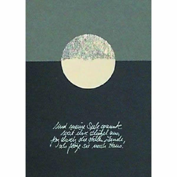 """Trauer Karte """"... und eine Seele"""""""