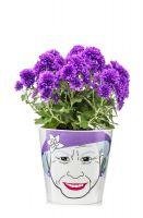 """Blumentopf """"Flower Queen"""" big"""
