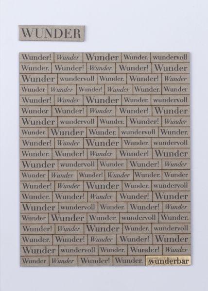 Wörterkarte Wunder