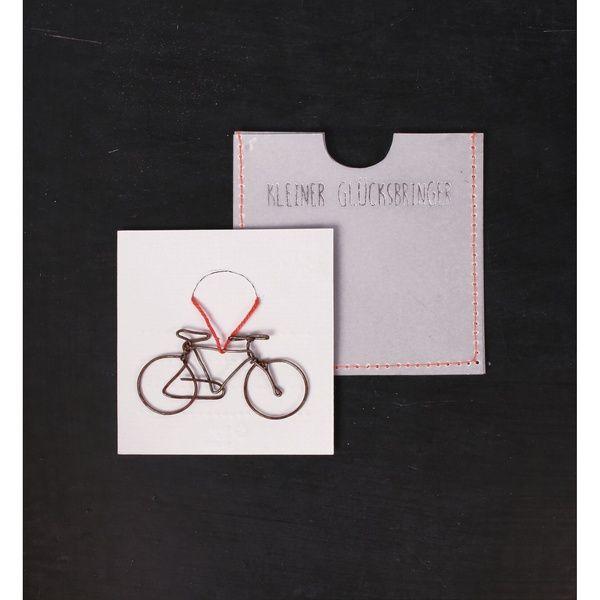 Kleine Glücksbringer - Fahrrad