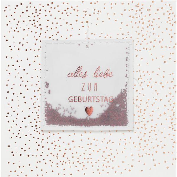 """Streugut Karte """"Alles Liebe zum Geburtstag"""""""