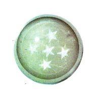 Traumkugel (Klein) Motiv 5 Sterne