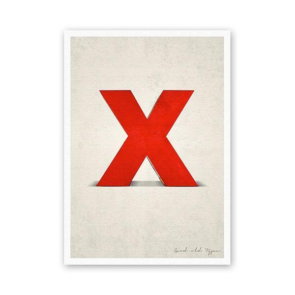 """Postkarte - """"X"""""""