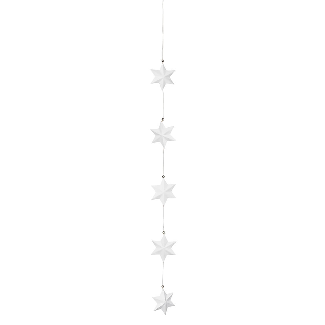 """Nigra Blanka Kreiskette /""""große Kreise/"""" L 100 cm Räder Design"""