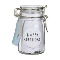 Herzstücke Geschenkglas Happy Birthday