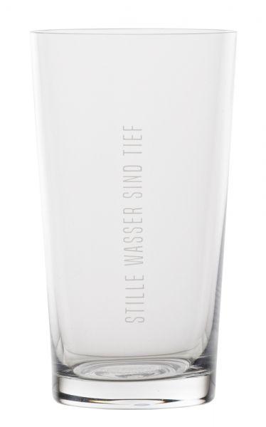 Wasserglas - Stille Wasser sind tief