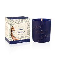 Wild Jasmine Wax Filled Glass Candle