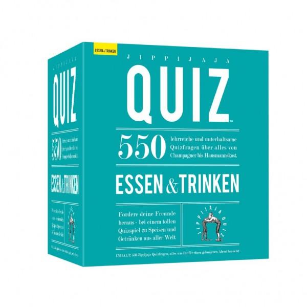 Kylskåpspoesi - 550 Fragen zu Essen und Trinken Jippijaja Quiz