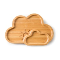 "Bamboo Plate ""Cloud Nine"""