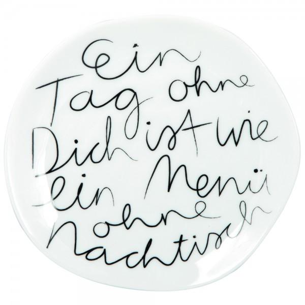 """Mix & Match Teller """"Ein Tag ohne"""" , klein"""