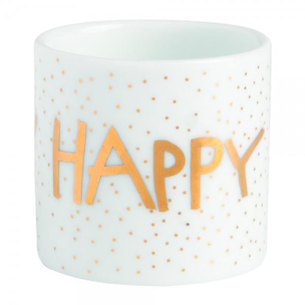 """Teelichthalter Helle Freude """"Happy Birthday"""""""
