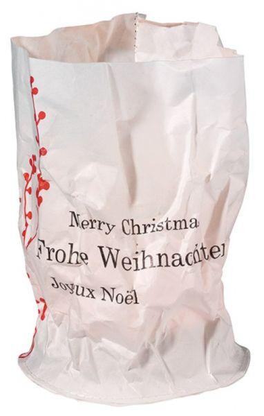 """Weihnachts Papierlicht Karte """"Ast"""""""