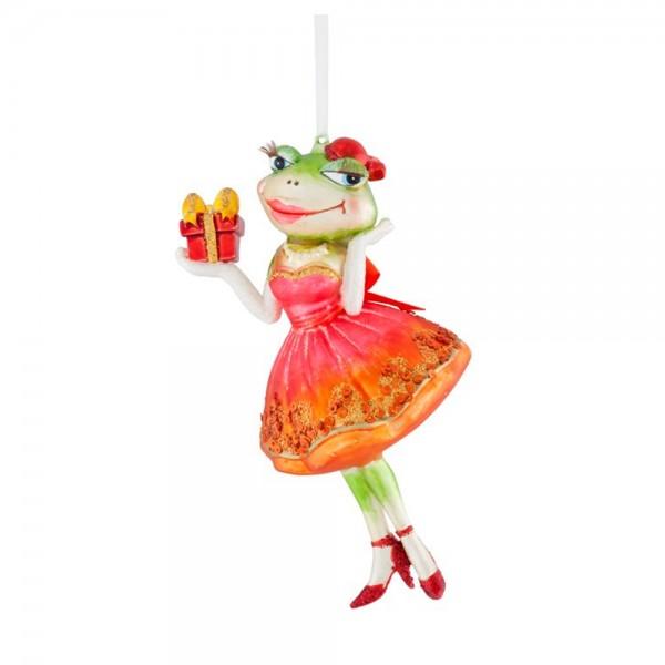 """Hänger """"Frog Bride, rot"""""""
