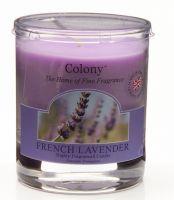 Duftkerze im Glas, klein - French Lavender (Lavendel) 35 h